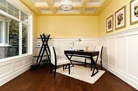 good colors for office. Best Colors For Home Office View In Gallery White And Yellow With Unique Ceiling Good