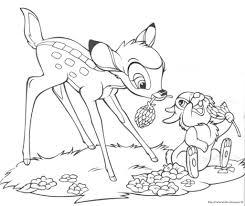 Bambi Disegno Da Colorare N2