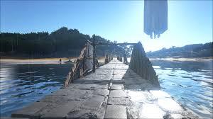 Ark Bridge Design Ark Survival Evolved Reconfigurable Raft Bridge Album