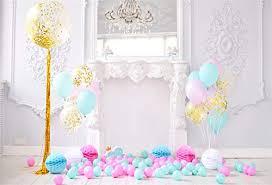 Aofoto 7x5ft Polyester Baby Girl 1st Birthday Cake Smash Photo