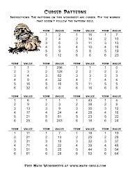 Kindergarten Worksheets Patterns Printable Pattern For Free Under ...