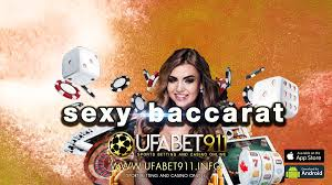 Sexy Baccarat เดิมพันจัดหนักได้ทั้งวันด้วยเว็บคาสิโนรายใหญ่ระดับโลก