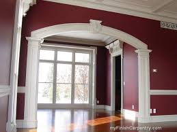 This is an interior archway.