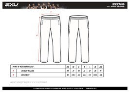 Size Guide Womens Track Pant