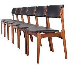 set of six dining chairs model 49 by erik buch for oddense maskinsinedkeri 1