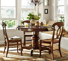 tivoli pedestal table napoleon chair 5 piece dining set pottery barn within room tables plans 8