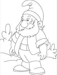 Small Picture Gnomes lost his way could you help him coloring pages Download