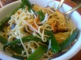 lo mein noodles vegetables tofu