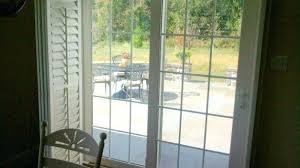 attractive sliding glass door with blinds in between the patio doors sliding glass doors with built