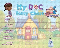 Doc Mcstuffins Chore Chart Digital Doc Mcstuffins Potty Training Chart Free Punch Cards Disney Jr High Res Jpg File Instant Download Not Editable Ready To Print