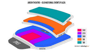Evansville Aiken Theatre Old National Events Plaza Seating