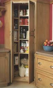 how+to+add+a+corner+pantry+to+an+existing+kitchen how to build an oak pantry  cabinet pantry cabinets are