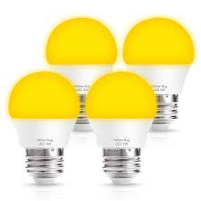 Amber Light For Sleep Techgomade Amber Yellow Led Bug Light Bulbs G45 Globe Bulb 25w Bug Free Lights Equivalent 2000k Warm Led Night Lights E26 Edison Base 3w Sleep