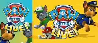 Paw Patrol San Jose Center For Performing Arts San Jose