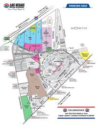 Lv Motor Speedway Seating Chart Las Vegas Motor Speedway Map Parking Distance From