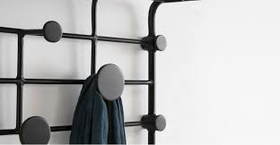 Short Coat Rack Magnificent Outstanding Bema Small Coat Rack Black Made Intended For Short