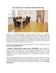 How do you clean bamboo floors Hardwood 10 Useful Tips To Maintain Bamboo Flooring Indeed No Hardwood Flooring Can Beat Bamboo Flooring Gallery Of Wood And Tile Flooring Yohakume 10 Useful Tips To Maintain Bamboo Flooring