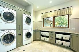double stack washer and dryer. Double Washer And Dryer Cabinets Stacking Cabinet Sage Green Laundry . Remodel Stacked Stack S