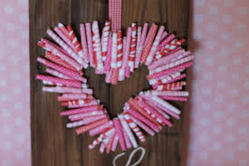 valentine wreaths for your front door19 Outstanding Handmade Valentines Wreaths
