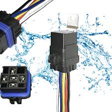 rfq wiring harness wiring library get quotations · 1 pack 40 30 amp 12v dc 5 pin automotive waterproof