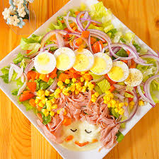 How To Decorate Salad Tray Fun Salad decoration ideas Working Mom's Edible Art 1