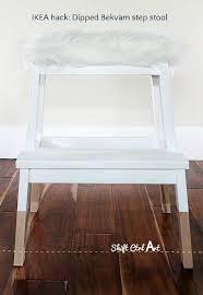 IKEA-hack-tejn-bekvam-step-stool-dipped-upholstered-