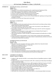 Financial Accountant Resume Samples | Velvet Jobs