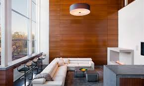 Small Picture Wooden Panel Walls in 15 Living Room Designs Home Design Lover