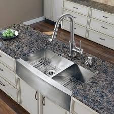 Apron Front Kitchen Sink White Copper Farmhouse Sink Kitchen With Copper Custom Kitchen Sink