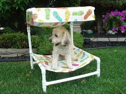 Outdoor dog bed with removable canopy. Buy it or DIY it! | pet ...