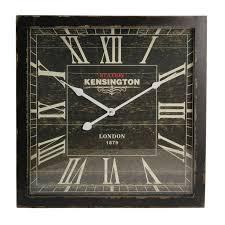 london wall clock black 40x6x40cm 40