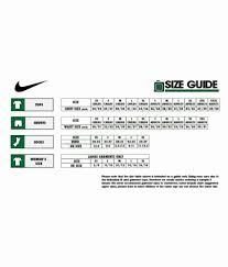 Nike Football Size Chart 55 Fresh Nike Pro Size Chart Home Furniture