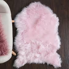 round fur rug white for nursery 5x8 faux sheepskin pink throw blanket interior