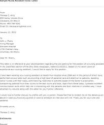 Graduate Program Cover Letter Nursing Graduate Cover Letter Example Sample Nurses Resume With