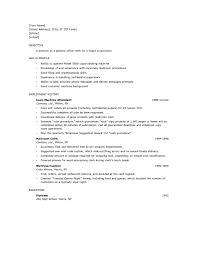 Examples Of Resumes Good Resume Template Notebook Paper