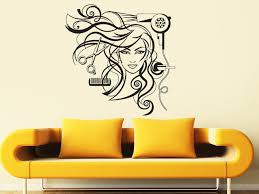 hair style wall decals hair salon wall art decal y hairdresser hair scciors b hair dryer wall sticker hair