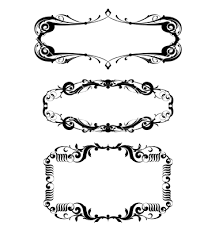 border frame victorian. Modren Victorian Victorian Frame Set Vector By Tan On Vectorstock Free Borders  Frames In Border R
