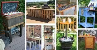 32 Best DIY Outdoor Bar Ideas and Designs for 2018