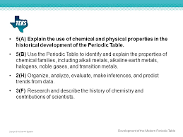 Section 1: Development of the Modern Periodic Table - ppt video ...
