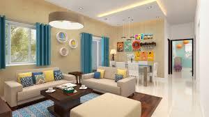Design Theme Bangalore Furdo Home Interior Design Themes Summer Hues 3d Walk Through Bangalore