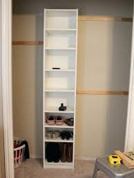 wall closet ikea how to build your own built ins using a billy bookcase system wall closet ikea