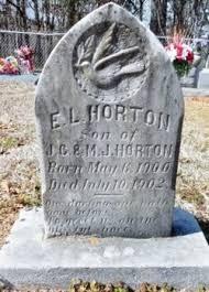 Earnest Lee Horton (1900-1902) - Find A Grave Memorial