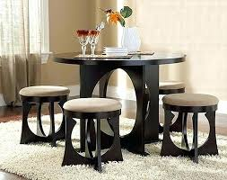 compact dining furniture. Dining Room Table Sets For Small Spaces Collection In Tables Rooms Round Compact Furniture