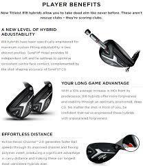 818 Hybrid Chart Titleist 818 H1 Hybrid Clubhouse Golf