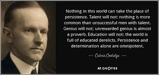 Calvin Coolidge Quotes Persistence Cool TOP 48 CALVIN COOLIDGE QUOTES ON LIBERTY GOVERNMENT AZ Quotes