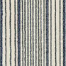mattress ticking stripe woven cotton rug 7 sizes navy beige