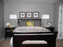 Stylish Grey Wall Bedroom Ideas Within Furniture For Small Bedrooms  Decorating