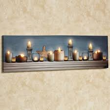 led light chandelier canvas lighted canvas wall art touch of class model 48