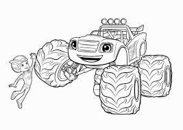 Free Printable Blaze Coloring Pages New Blaze Coloring Sheets