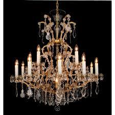 miasto bohemian 16 light crystal chandelier cb145311 16
